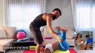 (Alexis Fawx) Spreads Her Legs For (Xander Corvus) And Instructs Him To Feed Her His Dick – Brazzers